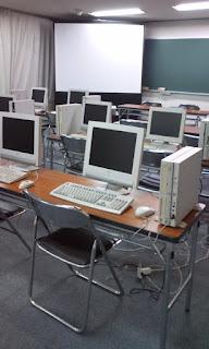 パソコン教室会場