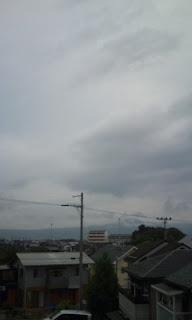 普通に曇り・・・