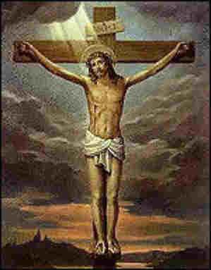 Jesus Wallpaper on Nice Painting Of Jesus On The Cross Image