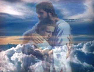 Jesus hugs the man with Sky background Photo Free download Jesus Christ Wallpapers and Images
