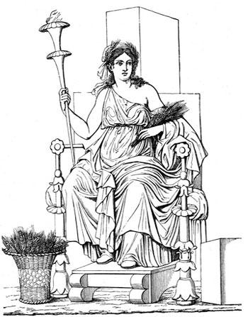 demeter greek goddess. The Homeric Hymn 13 to Demeter