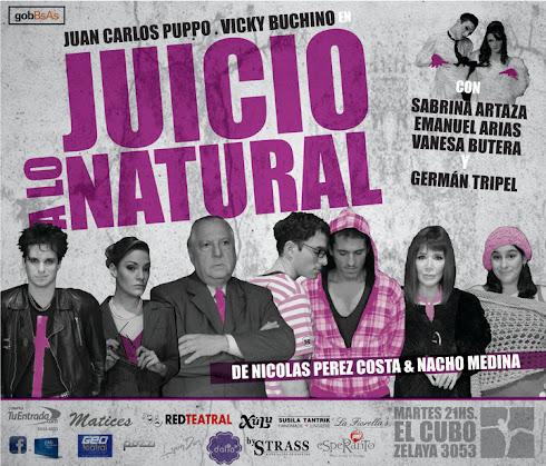 Juicio a lo Natural - Teatro El Cubo