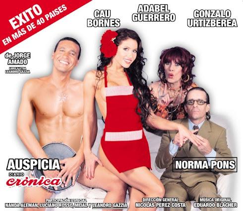 Doña Flor y sus dos maridos - Teatro Broadway II