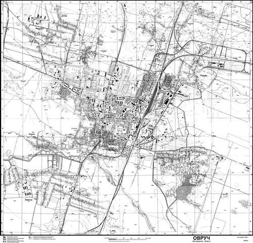 foto: online mapa ovrucha