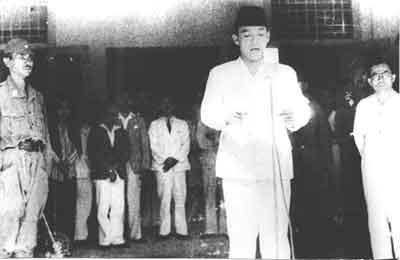 Proklamasi kemerdekaan Rakyat Indonesia