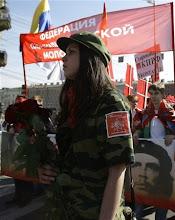 تظاهرات اول ماه مه روسیه