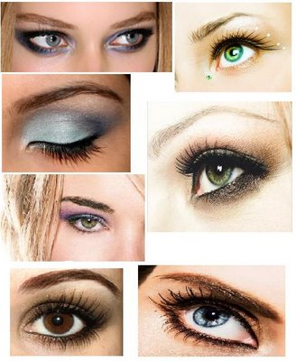 Brown Eyes Makeup Tips 1 1. Get three different shades of brown eye shadow.