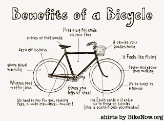 benefits of a bicycle