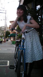 sharing life on a bike