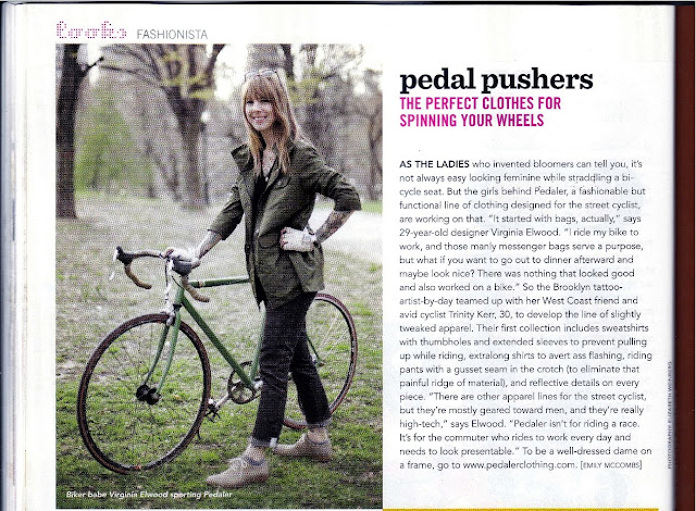 pedal pushers in Bust Magazine