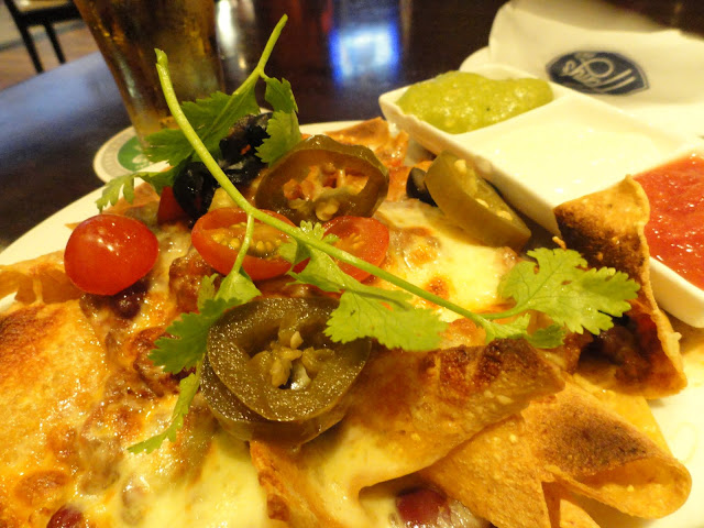 Chilli Nachos at Harry's