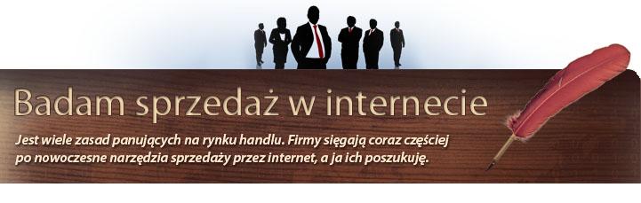 Badam sprzedaż internetem
