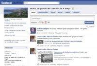 Prada en el Facebook
