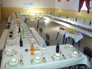mesas, almoço, associação de pardieiros