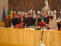 Assinatura do Protocolo-Bombeiros Voluntários de Cabanas de Viriato