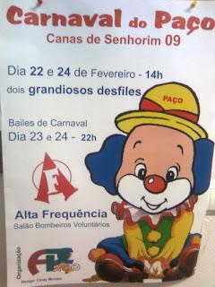 Carnaval em Canas de Senhorim