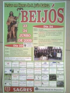 Beijós Festa em Honra de S. João Batista