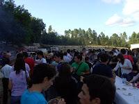 Lanche oferecido pela junta de freguesia de Beijós