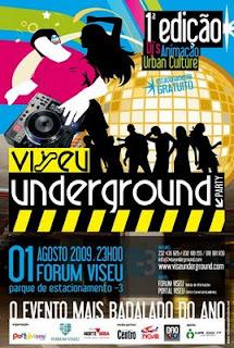 Viseu Underground 1ªedição 2009