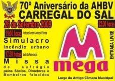 70º ANIVERSÁRIO DA AHBV CARREGAL DO SAL