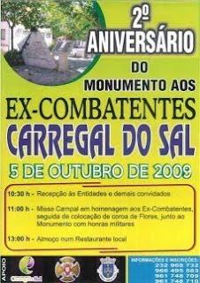 2º ANIVERSÁRIO DO MONUMENTO AOS EX-COMBATENTES