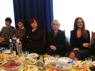 Reception in Zorepad Restaurant (Ternopil city, Western Ukraine)