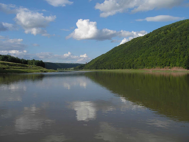 Dnister River, West Ukraine