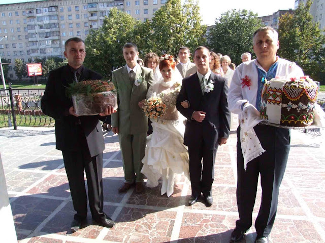 Wedding in Ternopil, West Ukraine