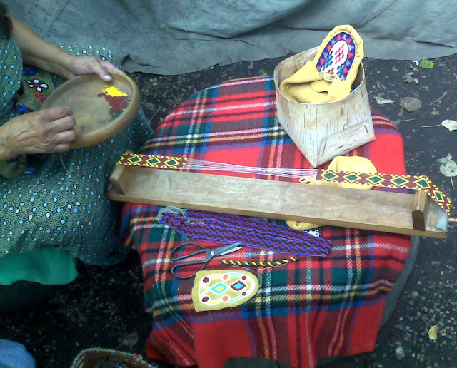 Native American beading technique