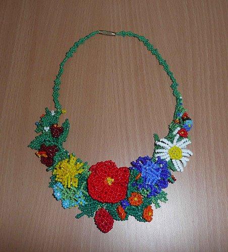 Ukrainian beading art