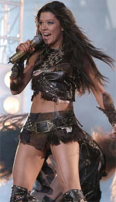 Ukrainian Singer Ruslana