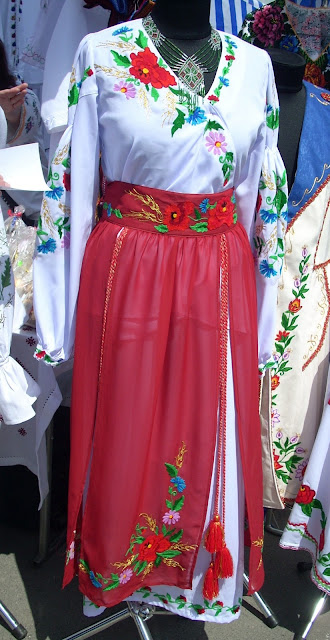Ukrainian Traditional Women Outfit Modern Details