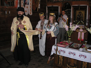 Wedding in the Western Ukraine
