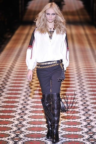 Gucci Slavic Theme Autumn Winter 2008 2009