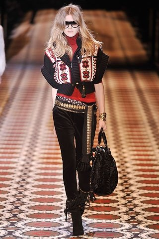 Gucci Ukrainian Patterns Autumn Winter 2008 2009