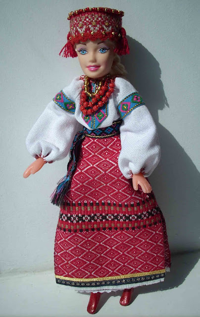 Barbie Ukrainian Outfit