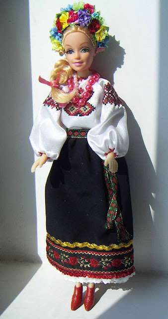 Barbie Doll Ukrainian Outfit