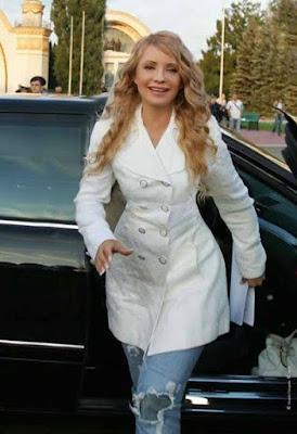 Ukrainian Prime Minister Yulia Tymoshenko Casual Outfit