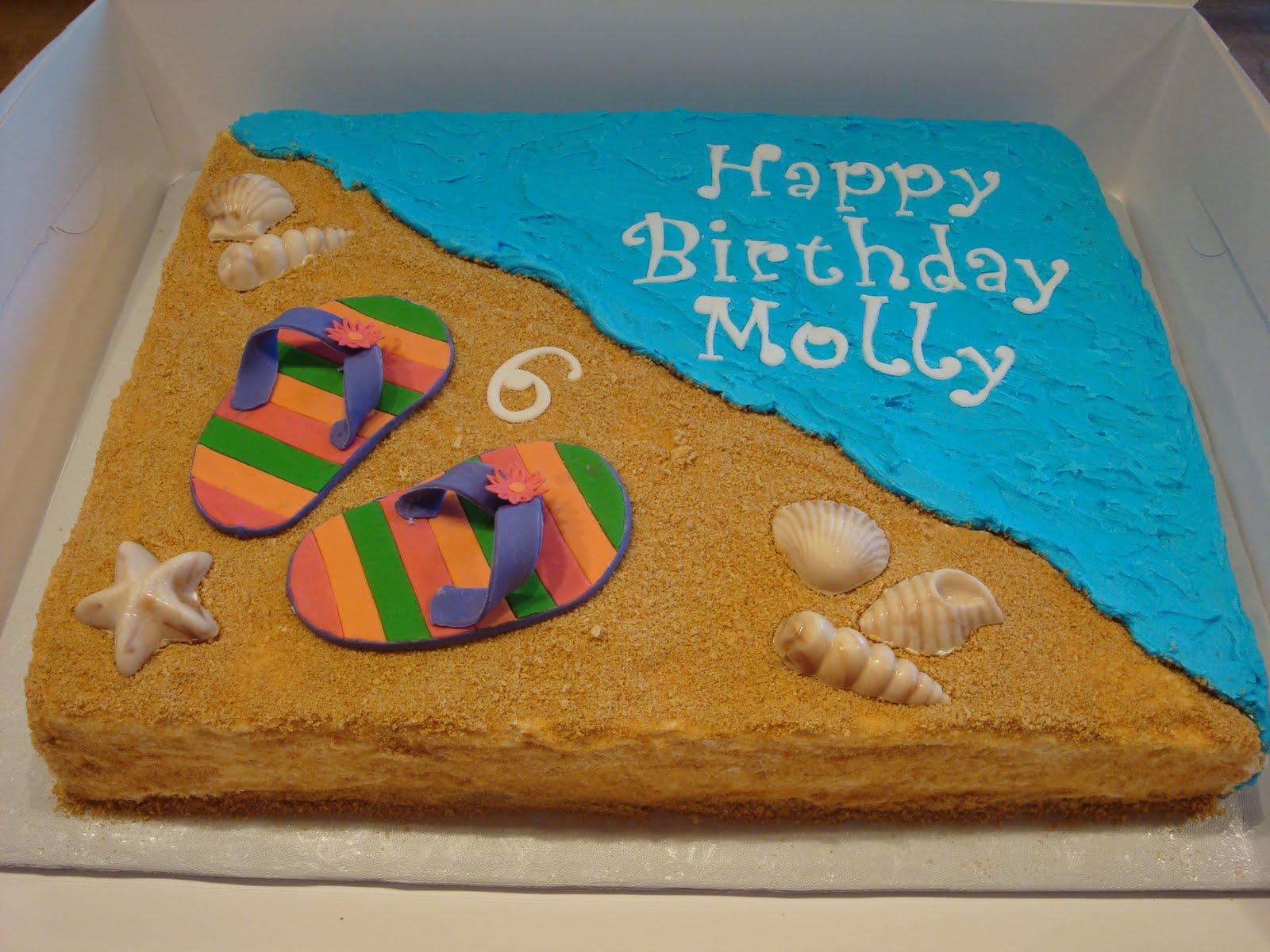 Flip Flop Cake Decorating Kit