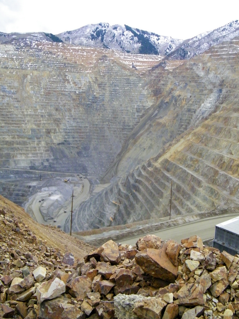 bingham canyon Salt lake city -- millions of tons of debris spilled into the bingham canyon mine on april 10, 2013, making it one of the.