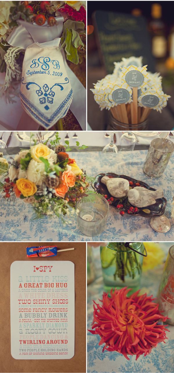 Rustic Wedding Toppers