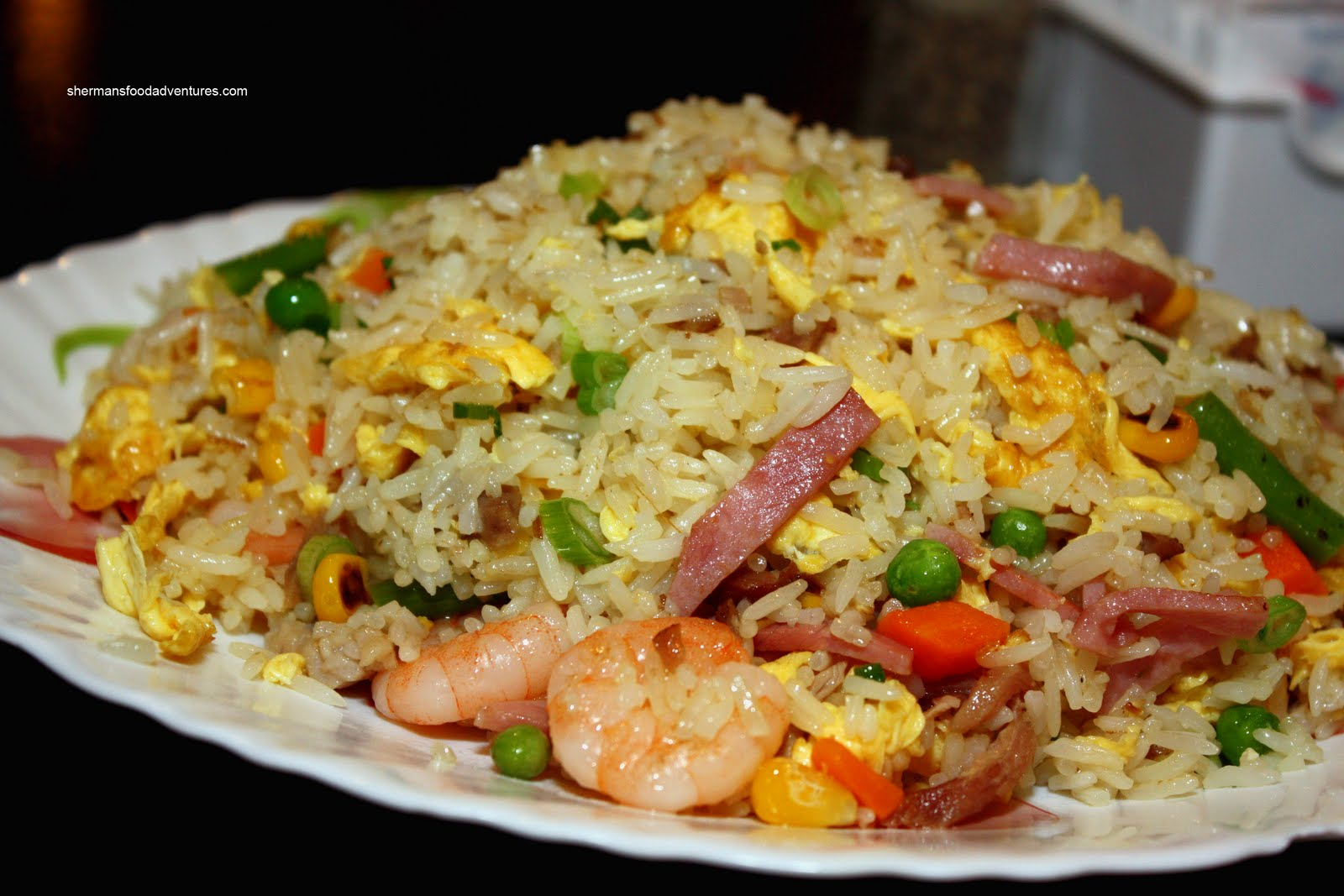 Sherman's Food Adventures: SIlver Tower Young Chow Fried Rice