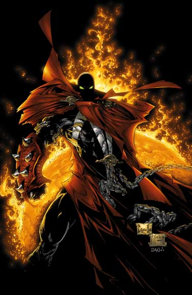 Spawn badass comic book hero