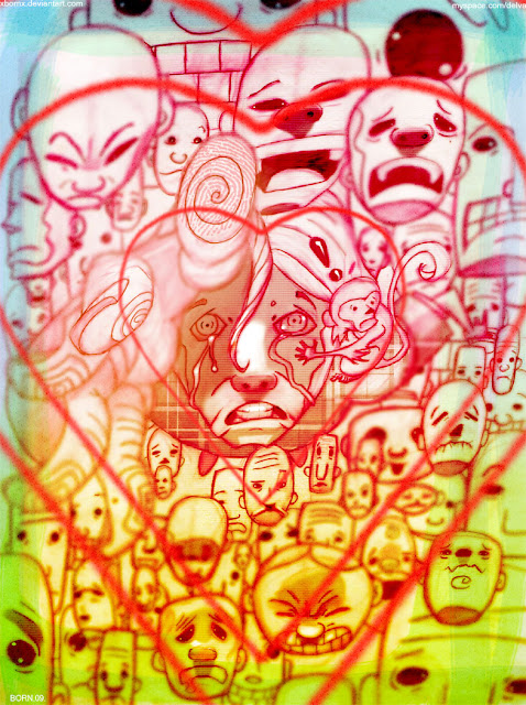 xBORNx art