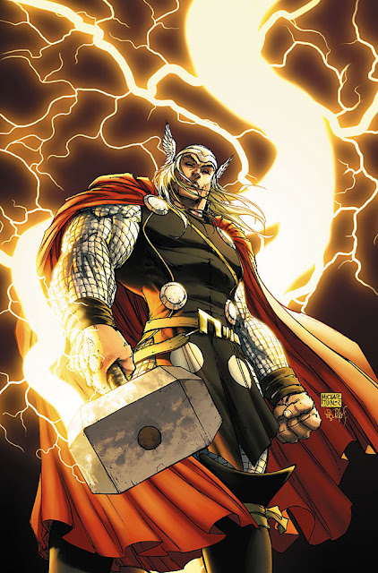 Thor badass comic book hero