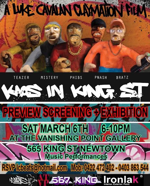 Invitation Kaos in King Street