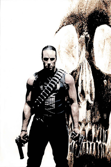 The Punisher badass comic book hero
