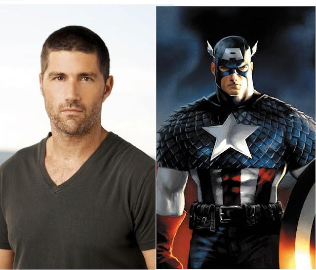 Matthew Fox as Captain America casting on purpose