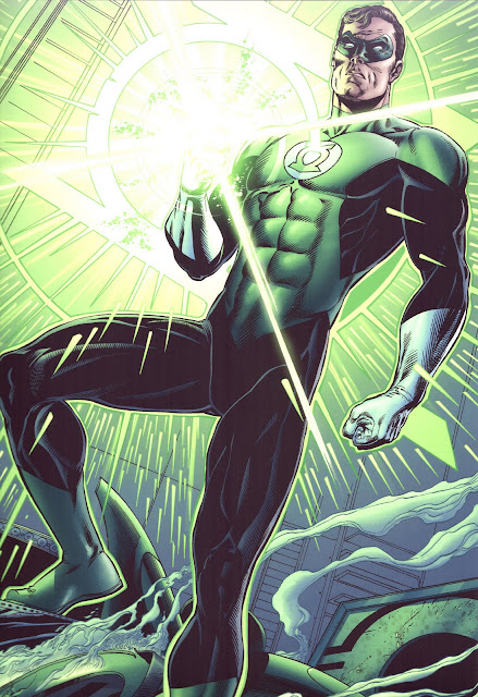 Green Lantern badass comic book hero
