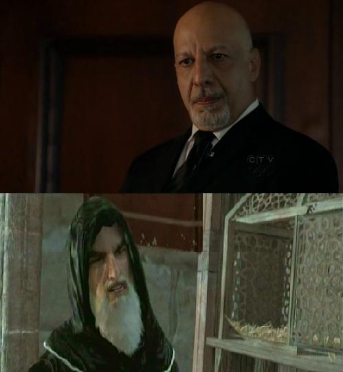Erick Avari as Al Mualim casting on purpose